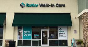 Sutter Walk-In Care   Sutter Health Plus