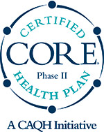 Core Phase II Certified Health Plan, A CAQH Initiative