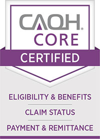 CAQH Core Certified - Eligibility & Benefits, Claim Status, Payment & Remittance