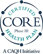 Core Phase III Certified Health Plan, A CAQH Initiative